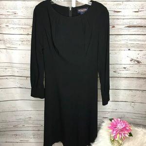 Brooks Brothers wool blend little black dress 2